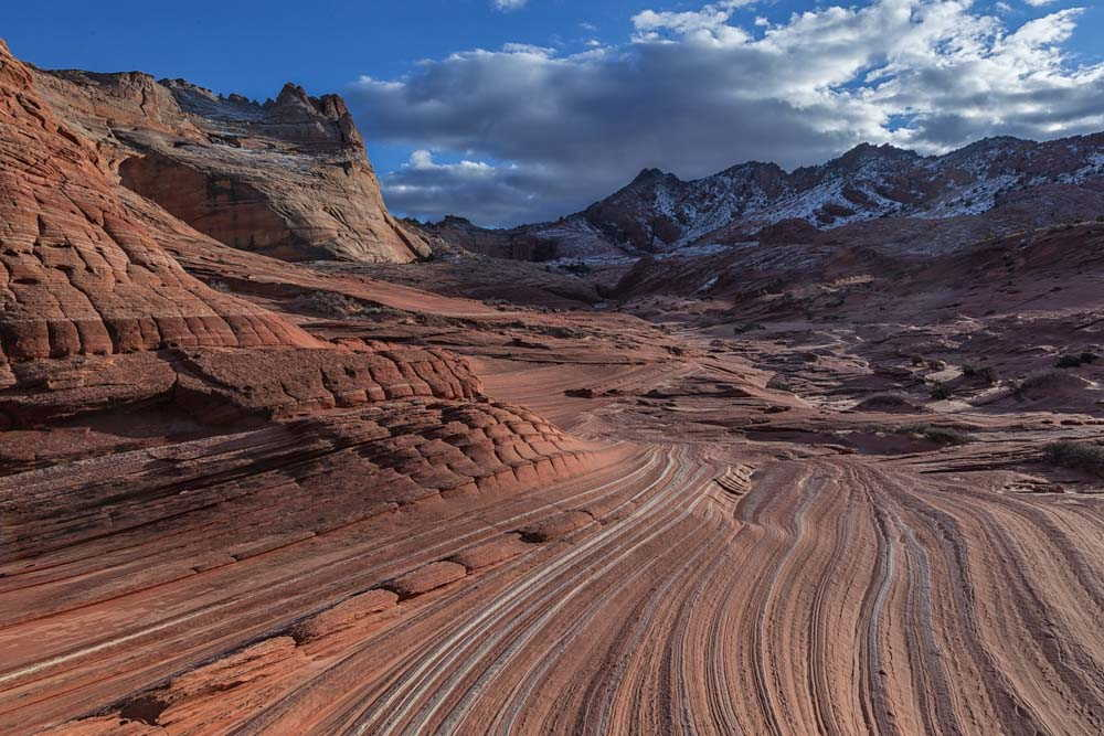 The view south from Sand Cove in Coyote Buttes North