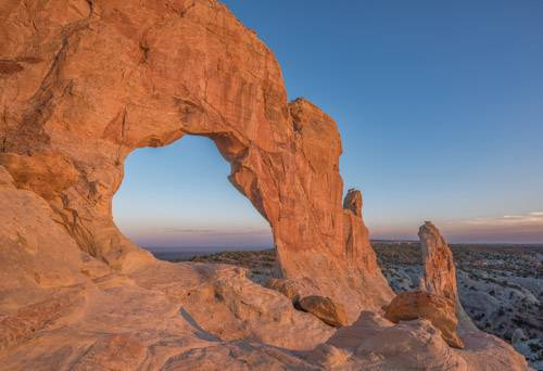 Margaret Arch at sunset
